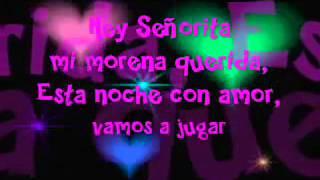 Allexinno Starchild   Hey Senorita (( Lyrics )).avi