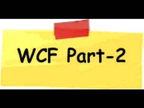 WCF LEARNING