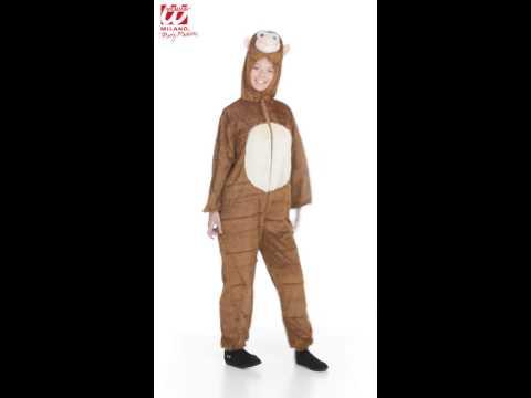 Pluche aap kostuum
