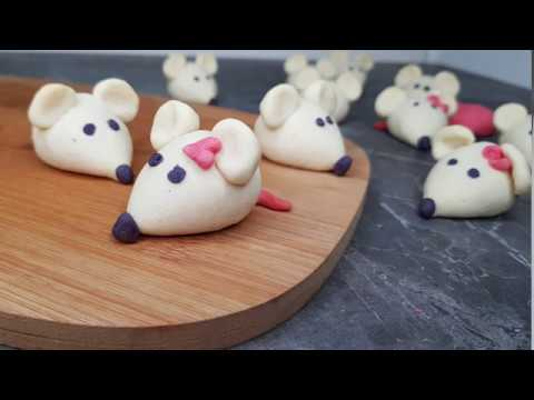 Новогоднее печенье Мышки ну очень вкусное