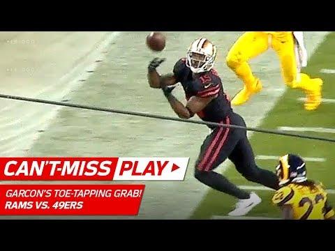 Garçon's Unbelievable Sideline Grab Sets Up Hyde's TD! ⚡️ | Can't-Miss Play | NFL Wk 3