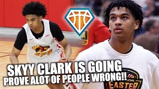 SKYY CLARK IS GOING TO PROVE A LOT OF PEOPLE WRONG!! | Full Nike EYBL Highlights