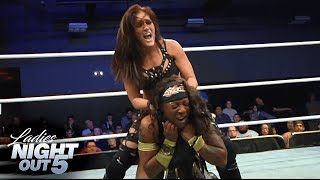 Ivelisse vs Jazz - Falls Count Anywhere - Ladies Night Out 5
