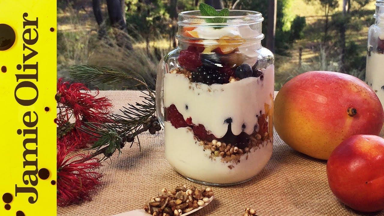 Fruit & Muesli Yogurt Parfait