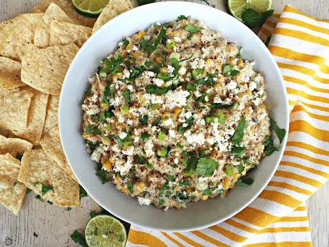 Appetizer Recipe: Mexican Street Corn Dip by Everyday Gourmet with Blakely