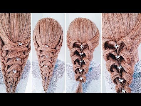★НЕОБЫЧНЫЕ ПРИЧЕСКИ★ Греческая коса: 2 варианта плетения ★Amazing hairstyles ★LOZNITSA