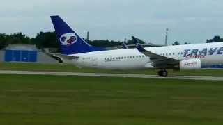 preview picture of video 'Travel Service Boeing B737-8BK'