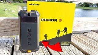 Ulefone Armor 3 - 10300mAh - Global LTE - 13MP/21MP - NFC - Stereo Speakers - Rugged!