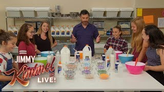 Jimmy Kimmel Makes Slime with Kids - Video Youtube