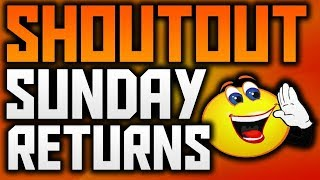 SHOUT OUT SUNDAY #2 - GET SUBSCRIBERS