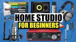 Home Music Studio Equipment - Essentials For Beginners | Best Home Studio Equipment Bundles 2020