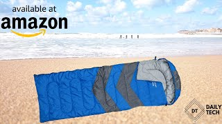 Abco Tech Sleeping Bag Review Amazon Best Seller Envelope Lightweight Portable Waterproof
