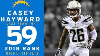 #59: Casey Hayward (CB, Chargers) | Top 100 Players of 2018 | NFL