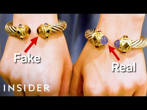 How to Spot Fake Jewelry at Home