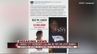 Haines City residents calling in tips on Markeith Loyd search