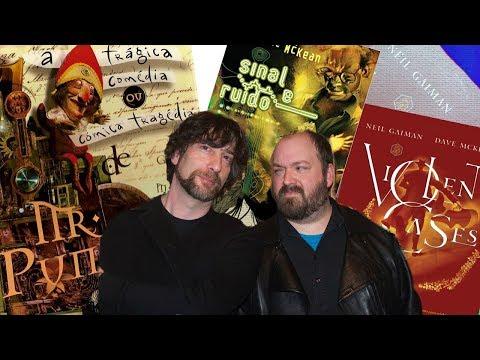 3 HQs INCRÍVEIS do Neil Gaiman + Dave McKean