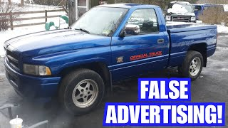 Truck Seller Hides The Truth... Tries To Scam US!