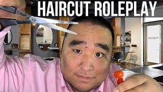 [ASMR] Relaxing Haircut RP ✂️ (Scissors, Brushing, Shampoo)   MattyTingles