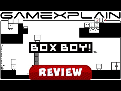 BOXBOY! - Video Review (3DS) - YouTube video thumbnail