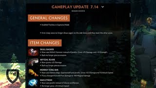 Dota 2: Patch 7.14 Game, Item & Important Hero Changes! | How To Play Dota 2 | PVGNA.com