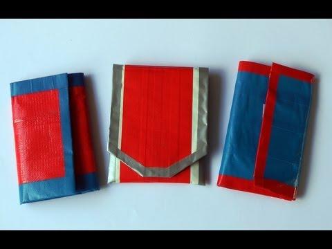 Cómo hacer una billetera - Manualidades para todos
