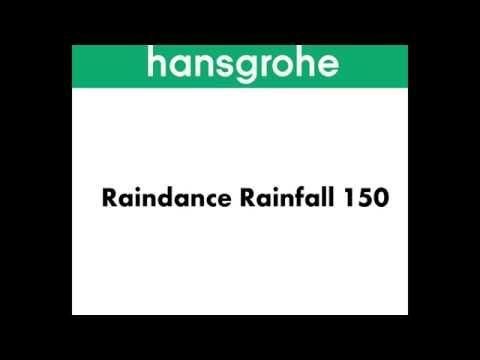 Hansgrohe Raindance Rainfall 150 HD