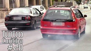 TURBO CURITIBA #20 - Marea, Camaro, Subaru, Saveiro, Civic SI, Golf GTI & Mais preparados!