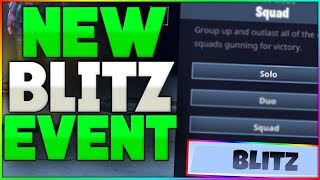 BRAND NEW BLITZ GAMEMODE COMING TO FORTNITE?! | Blitz Gamemode Leaked By Devs! | 8 NEW Theories!