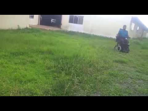 Standup Motorized Wheelchair