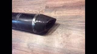 Ремонт карбонового глушителя Akrapovic  Yamaha R1