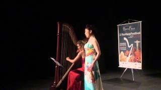 Sakura - Traditional Japanese - Miho Kamiya soprano and Marianne Gubri harp