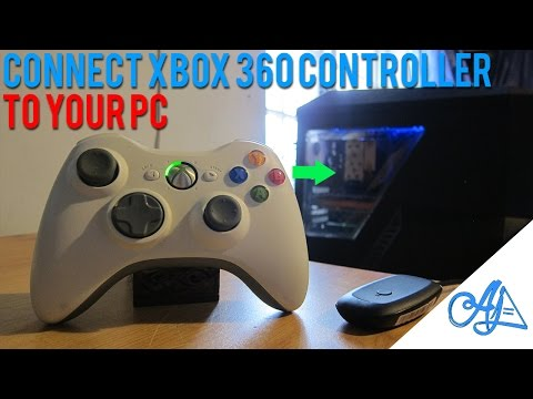 HOW TO: Connect Xbox 360 Controller to PC : (Wireless/Wired) - Windows 10/8/7/Vista/XP