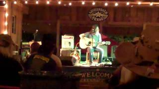 Chris Robinson performing Appaloosa @ Lukenbach, Tx