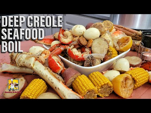 😲 AB Did Something: Deep Creole Seafood Boil