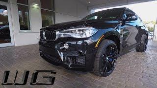 2017 BMW X6 M  Triple Black   One Take, Exterior, Interior & Exhaust