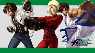 KoF XIII: 100% combo video (Ash, EX Kyo, Kim