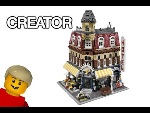 LEGO Creator Café Corner (10182) - Speed build