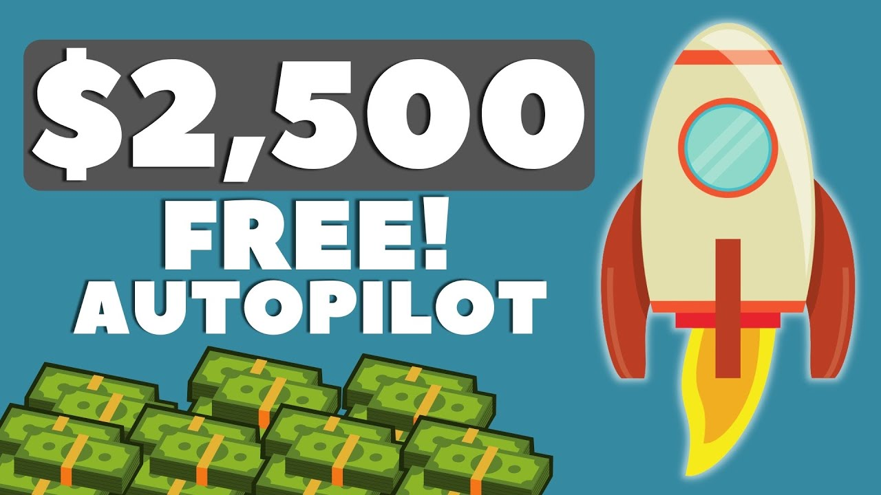 Make $2500 On Auto-pilot Free Of Charge (Earn Money Online) thumbnail