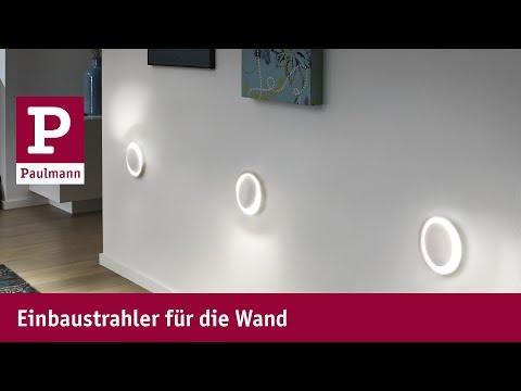 Einbaustrahler für die Wand