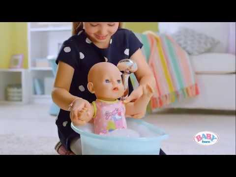 BABY born Badespaß mit Badewanne, Dusche und Accessoires
