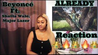 Beyoncé, Shatta Wale, Major Lazer – ALREADY (Official Video) REACTION