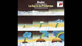 "Stravinsky ""Rite of spring"" - Pierre Boulez (1969, from LP)"