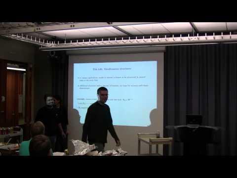 Maryam Fazel - Recuperación de modelos estructurados simultáneamente mediante optimización convexa