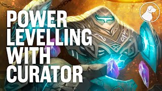 Dog Teaches You to Power Level with Curator | Dogdog Hearthstone Battlegrounds