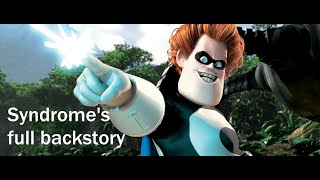 Syndromes Full Backstory:Disney Pixar Perception