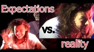 Harry Styles - Expectations vs reality