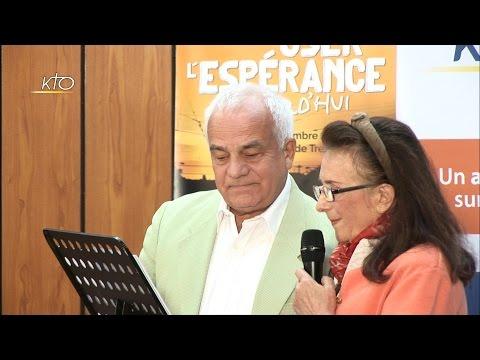 De la rencontre du Christ à l'amour de l'Église, par Amyeline et Nicolas de Chezelles