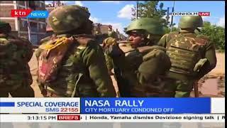 Running battles witnessed in Manyanja road, Donholm