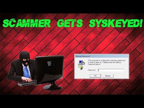 Syskeying a Tech Support Scammer's PC!! - Thủ thuật máy tính - Chia