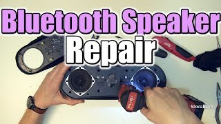 Creative D100 Bluetooth Speaker Opening and Repair